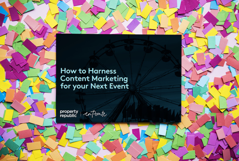 How to harness content marketing for your next event